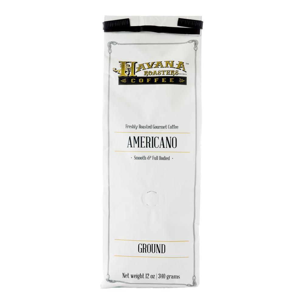 12 oz. Americano Coffee Grounds (12-Bags)