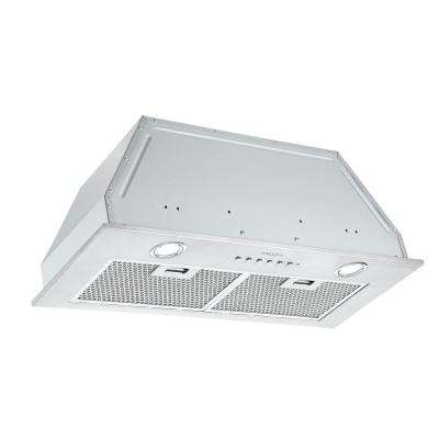 BN628 28 in. 620 CFM Ducted Built-In Range Hood with LED in Stainless Steel