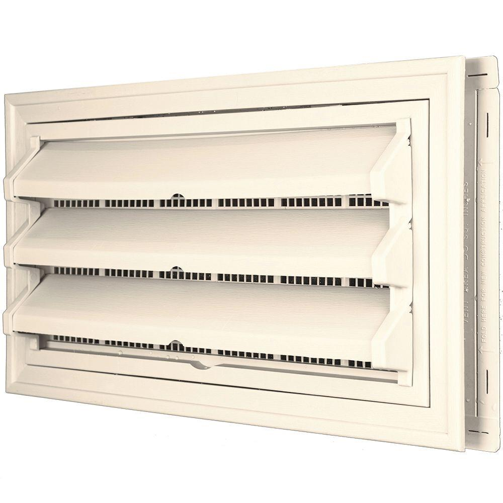9 3/8 in. x 17 1/2 in. Foundation Vent Kit W/Trim