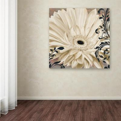 """24 in. x 24 in. """"Winter White I"""" by Color Bakery Printed Canvas Wall Art"""