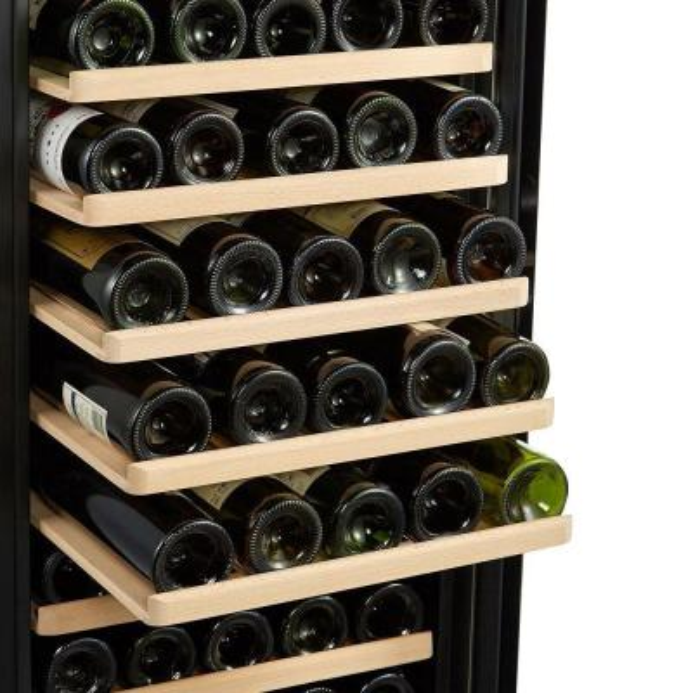 80 Bottle Single Zone Freestanding Compressor Wine Cooler