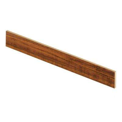 Perry Hickory 47 in. Long x 1/2 in. Deep x 7-3/8 in. Height Laminate Riser to be Used with Cap A Tread