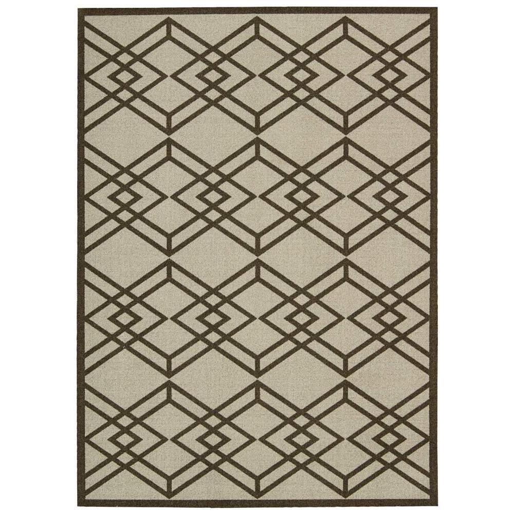 Nourison Overstock Enhance Latte 2 ft. 6 in. x 4 ft. Accent Rug