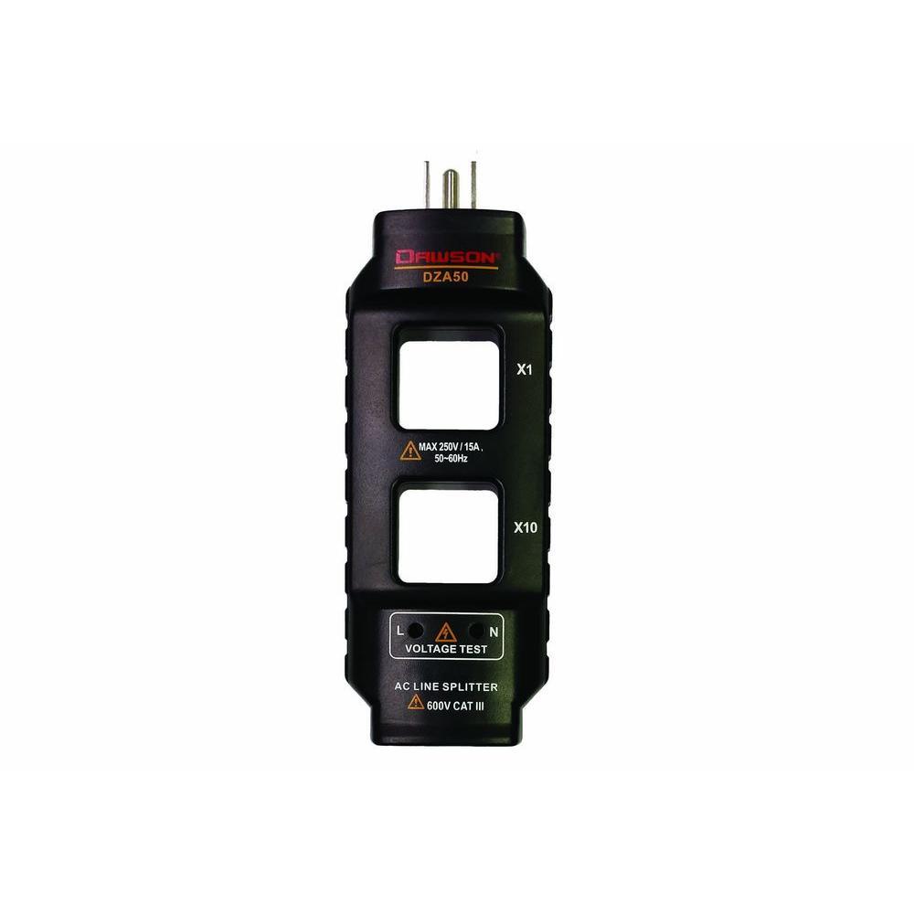Dawson Ac Line Splitter Dza50 The Home Depot Wiring Antenna Digital