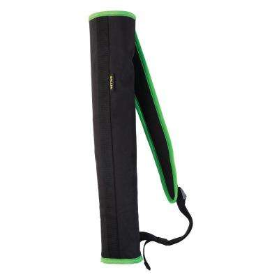Compact Back Quiver in Black and Green