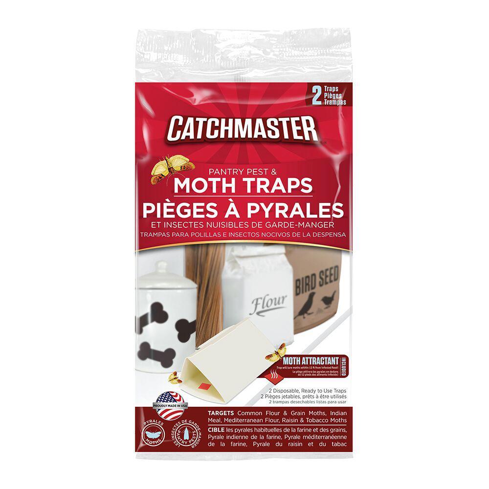 Pantry Pest Moth Traps (2-Pack)