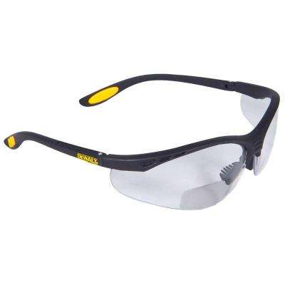 Safety Glasses Reinforcer RX - 1.0 Diopter with Clear Lens
