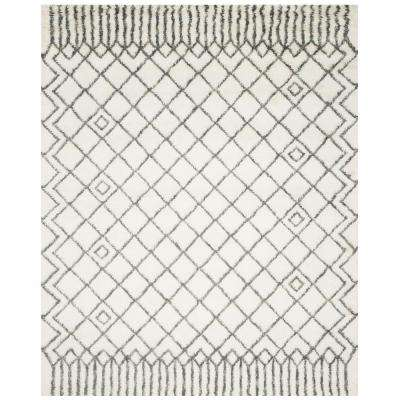 Casablanca Ivory/Gray 8 ft. x 10 ft. Area Rug