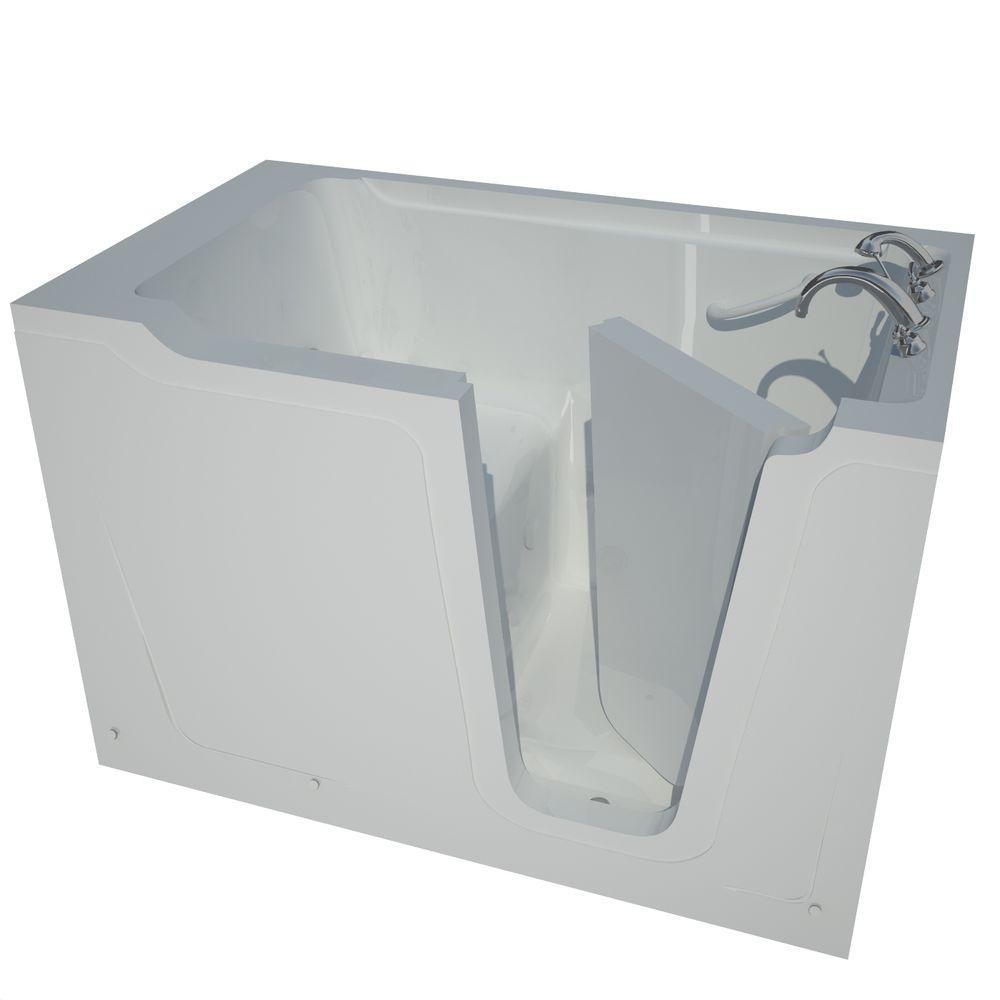 Universal Tubs 5 ft. Right Drain Walk-In Bathtub in White