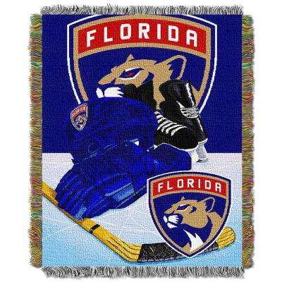 Panthers Multi Color HIA Tapestry Throw