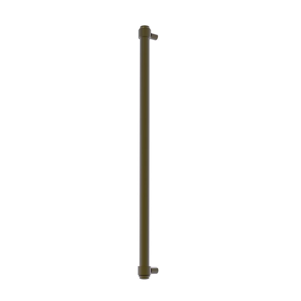 Allied Brass 18 in. Center-to-Center Refrigerator Pull in Antique Brass Transform your kitchen with this elegant Refrigerator and Appliance Pull. This pull is designed for replacing the pulls or handles on your built-in refrigerator, freezer or any other built in appliance. Appliance pull is made of solid brass and provided with a lifetime finish to insure products will provide a lifetime of service.