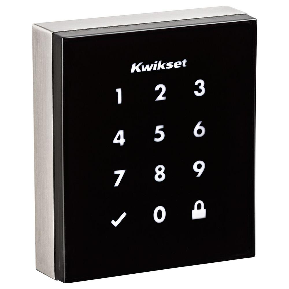 Kwikset Obsidian Satin Nickel Keyless Electronic