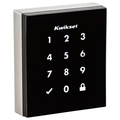 Obsidian Satin Nickel Keyless Electronic Touchscreen Deadbolt