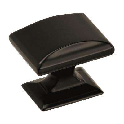 Candler 1-1/4 in. L (32 mm) Black Bronze Cabinet Knob
