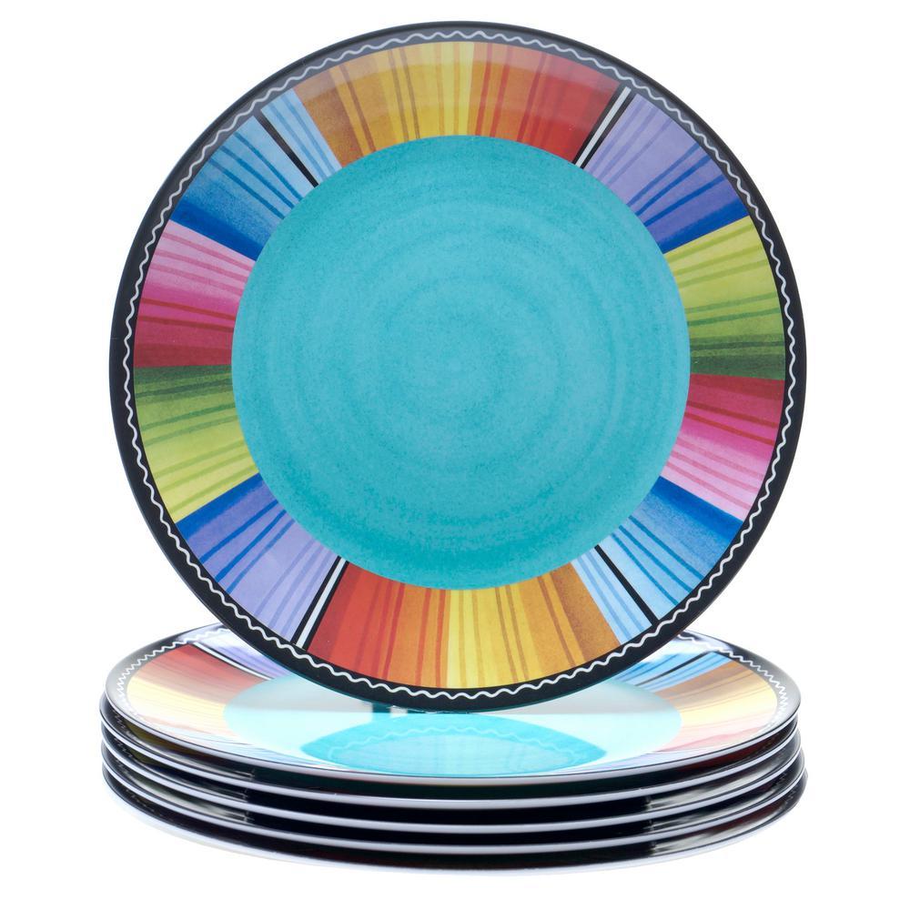 Certified International Serape Dinner Plate (Set of 6)  sc 1 st  Home Depot & Certified International Serape Dinner Plate (Set of 6)-21910SET/6 ...