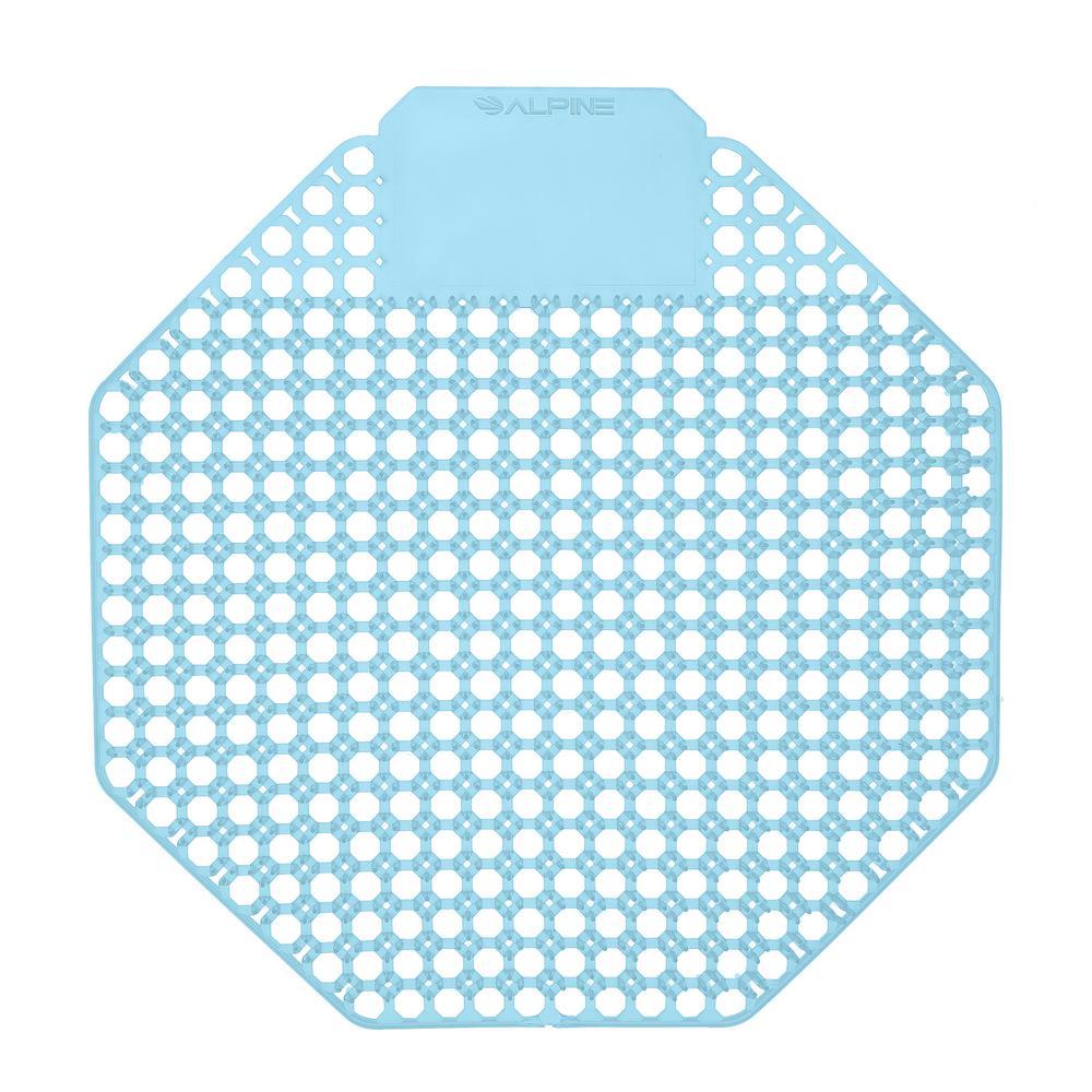 Ocean Mist Fragrance Anti-Splash Urinal Screen (10-Pack)