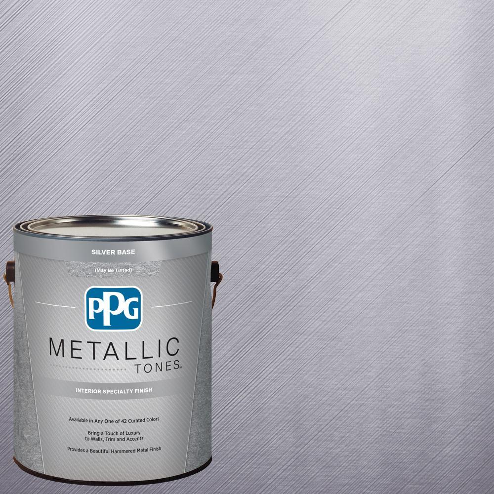 PPG METALLIC TONES 1  gal. #MTL106 Rejoice Metallic Interior Specialty Finish Paint