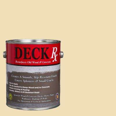 Deck Rx 1 gal. Yellow Wood and Concrete Exterior Resurfacer