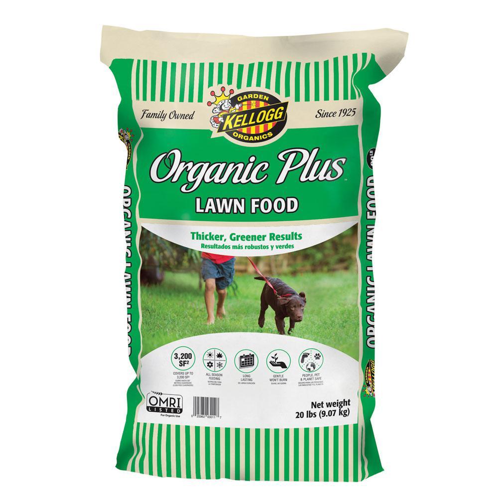 20 lbs. Organics Lawn Food