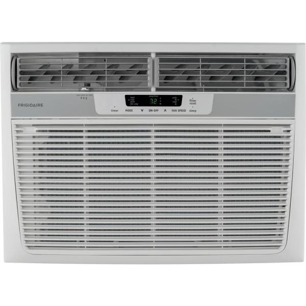 18,500 BTU 230-Volt Window Air Conditioner with Heat and Remote