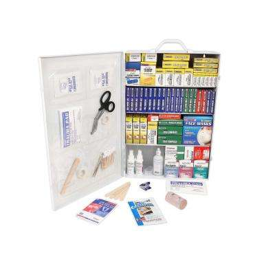 1500-Piece 4-Shelf First Aid Cabinet