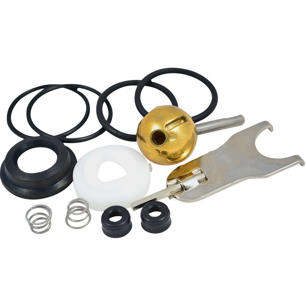 Partsmasterpro Repair Kit With 70 Style Ball For Delta Single Handle Tub And Shower