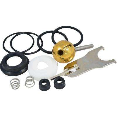 Repair Kit with 70-Style Ball for Delta Single-Handle Tub and Shower Faucets