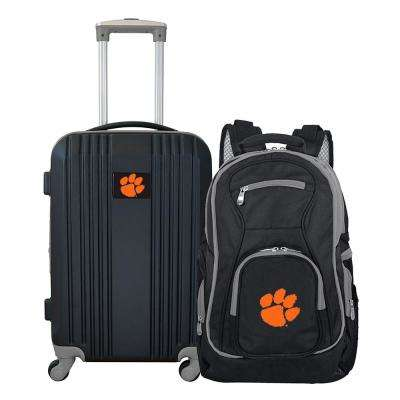 NCAA Clemson Tigers 2-Piece Set Luggage and Backpack