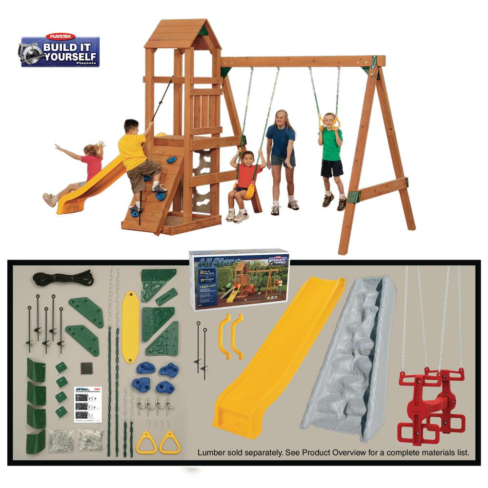 Playstar All Star Build-it Yourself Silver Playset (Lumbe...