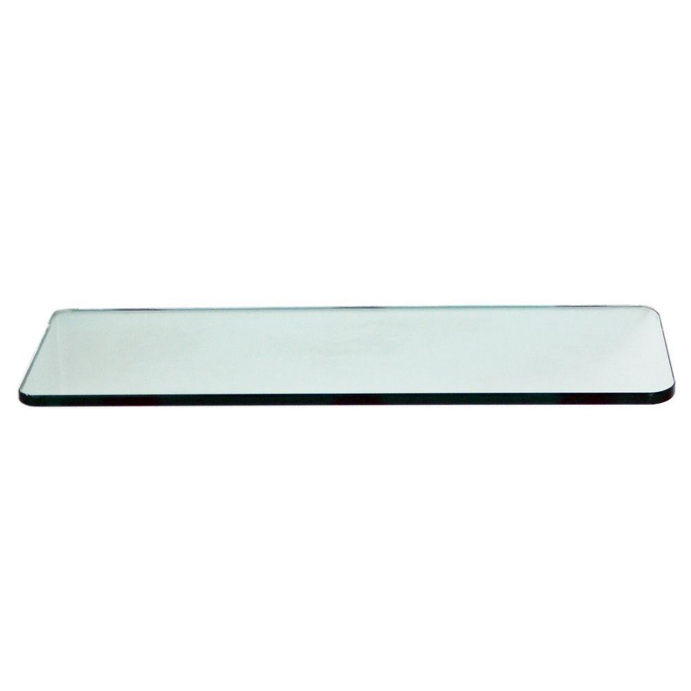 floating glass shelves 3 8 in rectangle glass corner shelf price varies by size r824 the. Black Bedroom Furniture Sets. Home Design Ideas