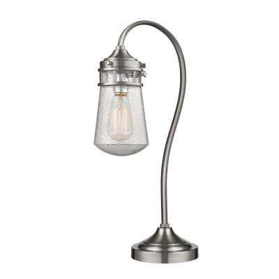 Cabalina 20.5 in. Brushed Nickel Table Lamp