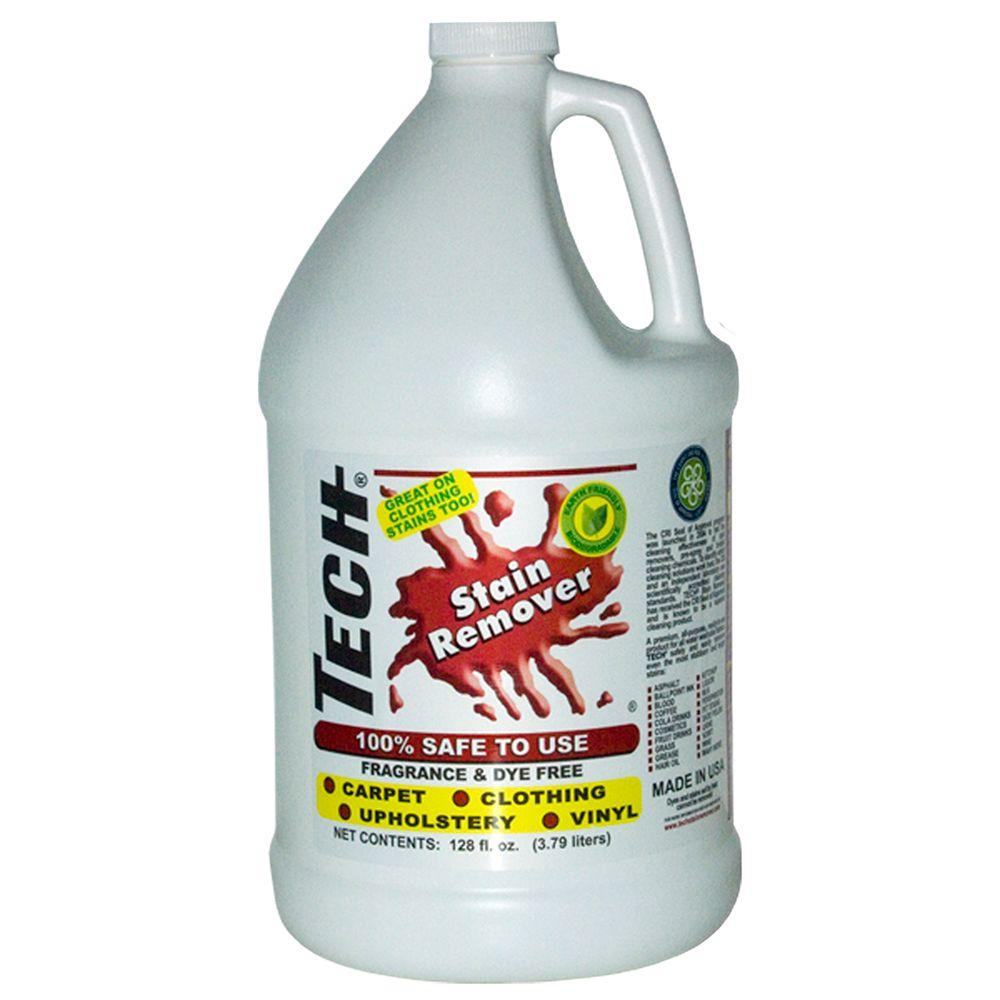 Sofa Fabric Stain Remover: TECH 128 Oz. Stain Remover Bottle Fabric Carpet Clothing
