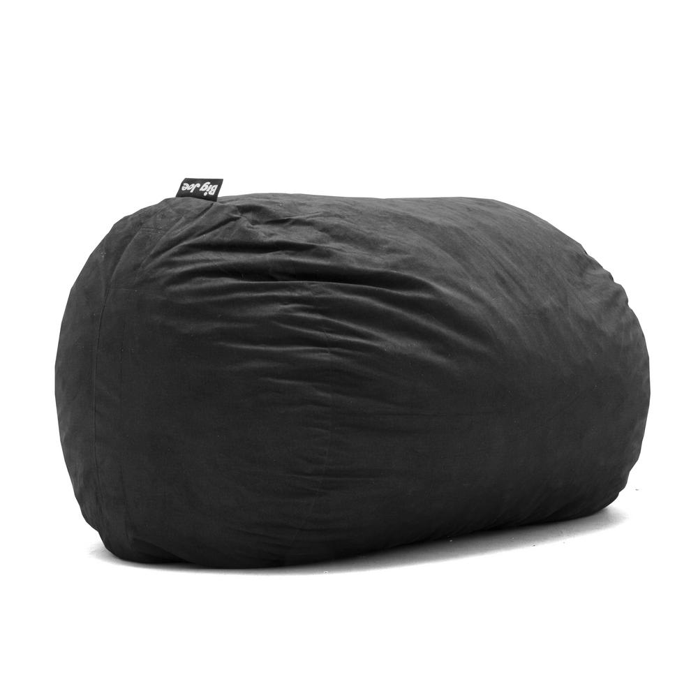 Big Joe Xl Fuf Shredded Ahhsome Foam Black Lenox Bean Bag