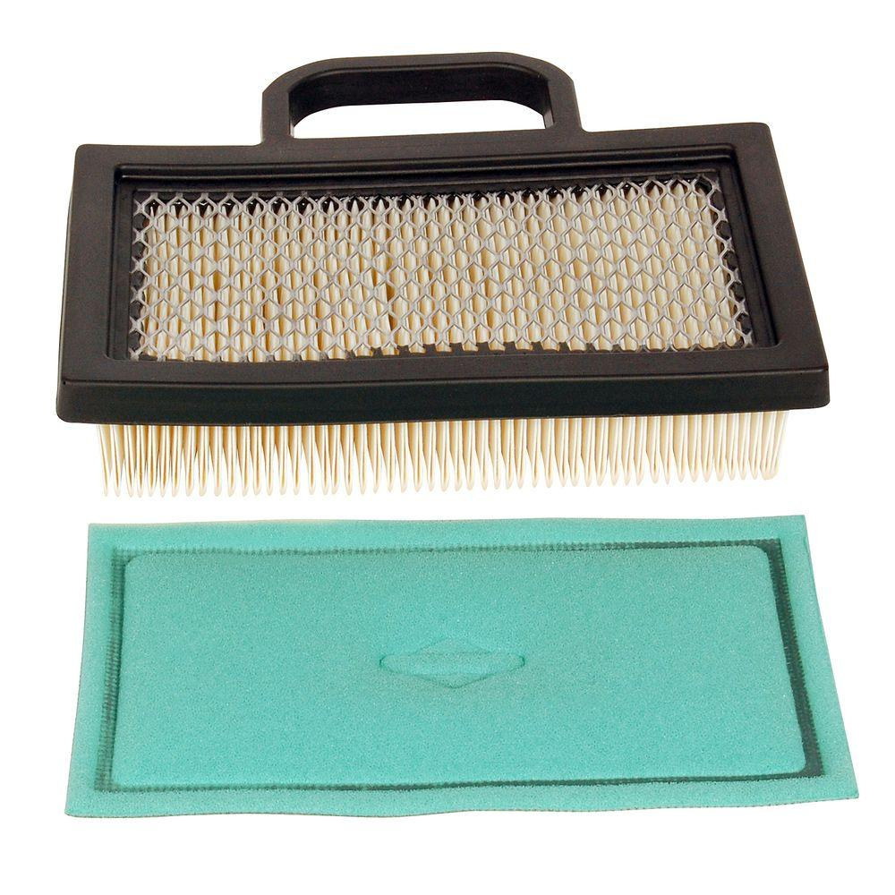 an essential accessory for gardening gardens DERCLIVE Lawn mower air filter