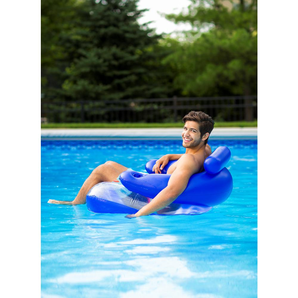 Oversized Inflatable Chair Recliner Lounger Swimming Pool ...