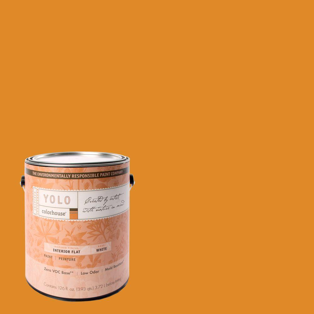 YOLO Colorhouse 1-gal. Petal .01 Flat Interior Paint-DISCONTINUED