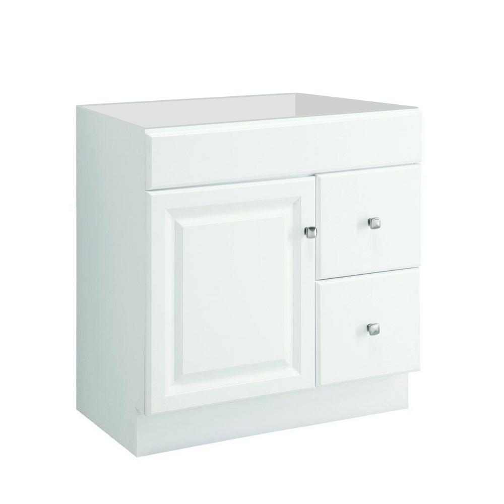48 inch vanities bathroom vanities bath the home depot - Unassembled bathroom vanity cabinets ...