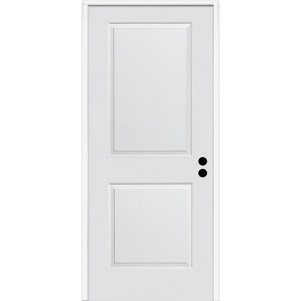 MMI Door 32 in. x 80 in. Carrara Left-Hand Primed Composi...