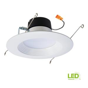 led lighting in kitchen halo lt 5 in and 6 in white integrated led recessed 6930