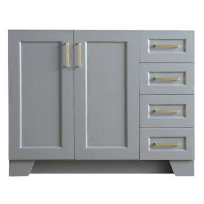 Taylor 42 in. W x 21.5 in. D Bath Vanity Cabinet Only in Grey