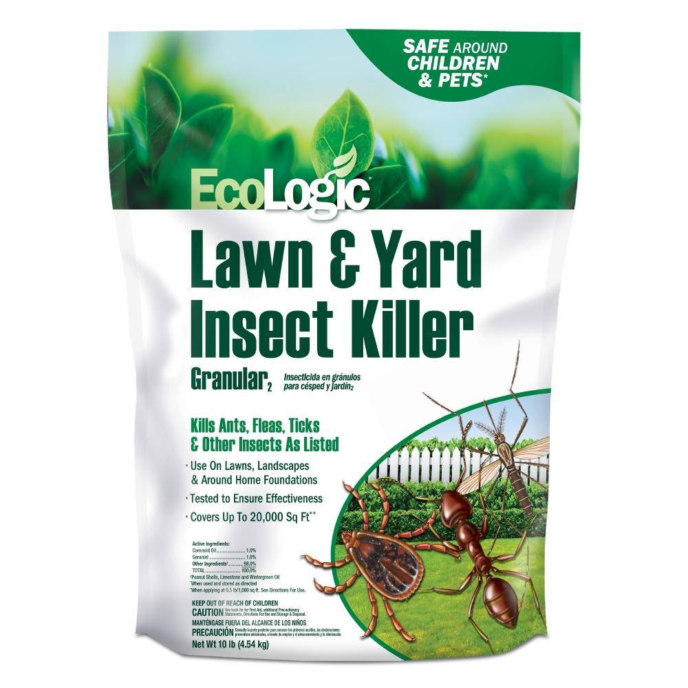 EcoLogic 10 lbs. Lawn and Yard Insect Killer Granular