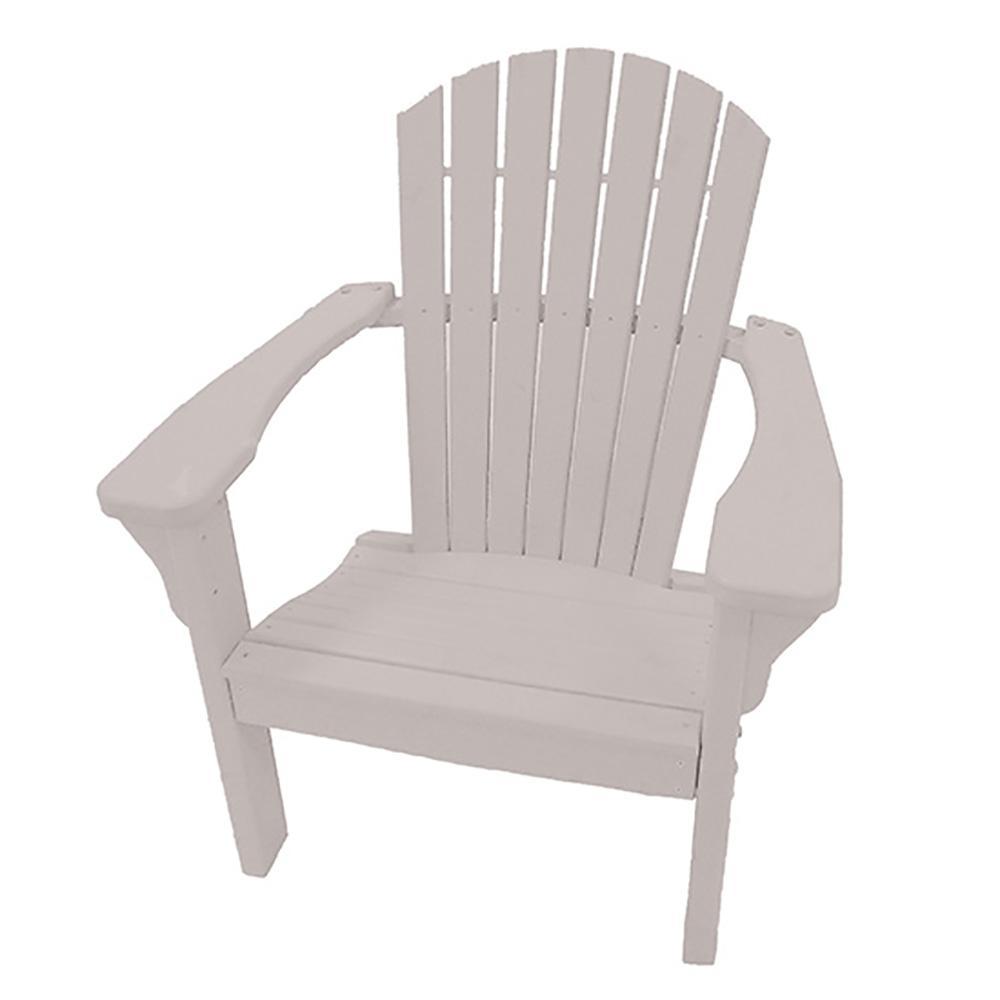 Sandstone Plastic Adirondack Chair