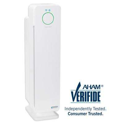 Smart Elite 4-in-1 Air Purifier with True HEPA Filter, UV Sanitizer, Odor Reduction, Wi-Fi, 28 in. Tower