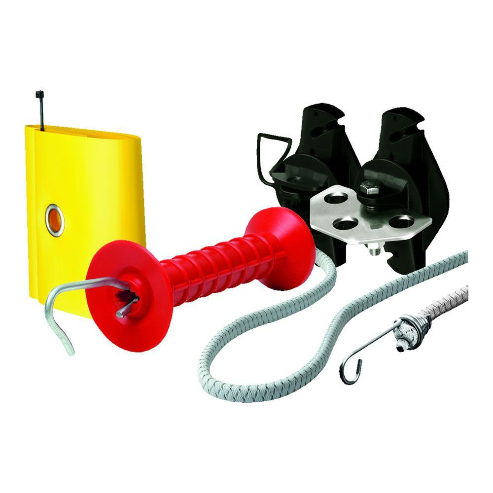 Speedrite 11 ft. to 23 ft. Red Bungy Gate Kit