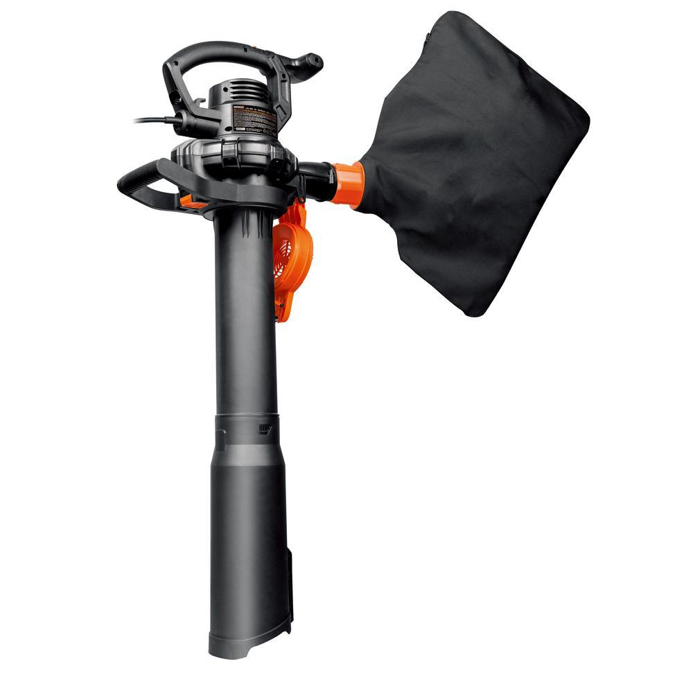 220 MPH 350 CFM 12 Amps 2 Speed Electric Blower/Mulcher/Vacuum
