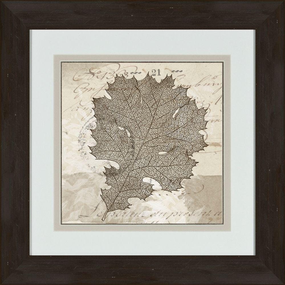 """null 17 in. x 17 in. """"Sophisticated Botany C"""" Framed Wall Art"""