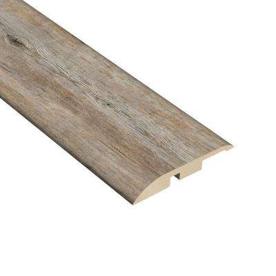 Long View Pine 7/16 in. Thick x 1-5/16 in. Wide x 94 in. Length Vinyl Multi-Purpose Reducer Molding