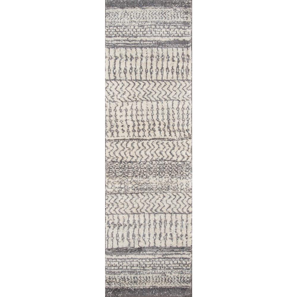 Momeni Lima Ivory 2 ft. x 8 ft. Indoor Area Rug