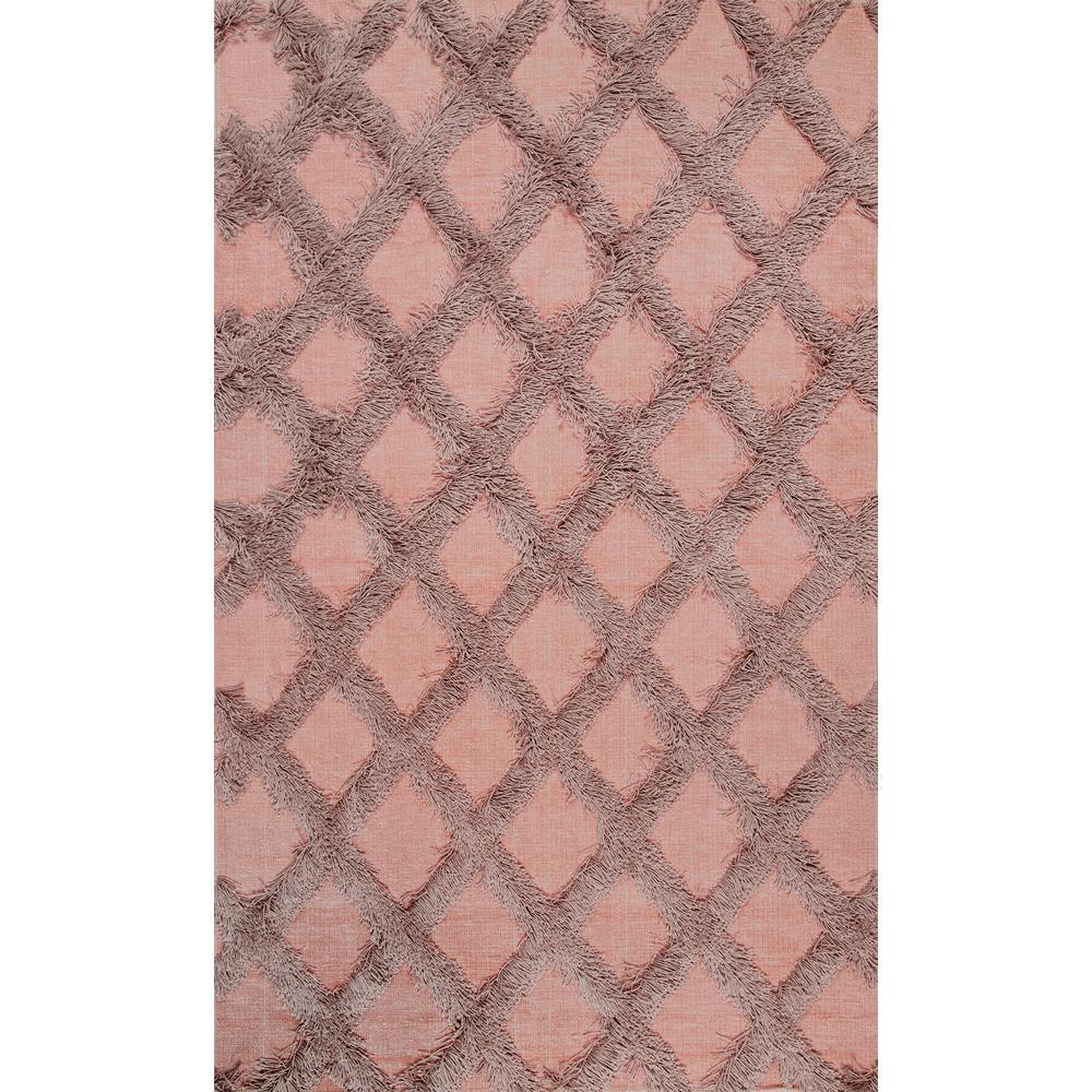 Chevron Light Pink Area Rugs