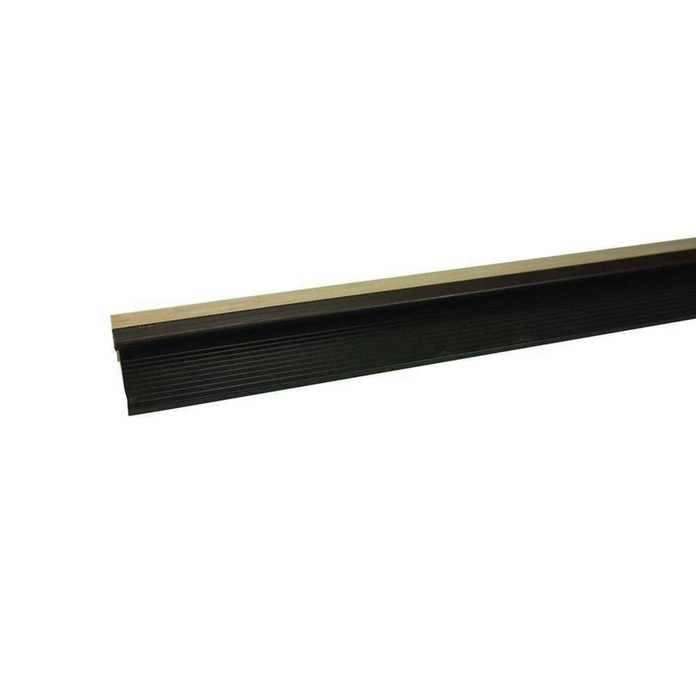 5-3/8 in. x 27 in. Bronze and Hardwood Aluminum Sills Door
